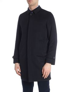 Herno - Blue cashmere coat