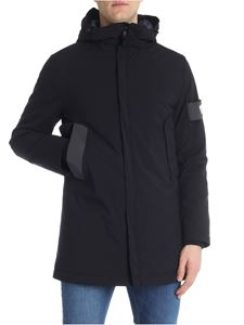 Rossignol - Black quilted jacket with logo