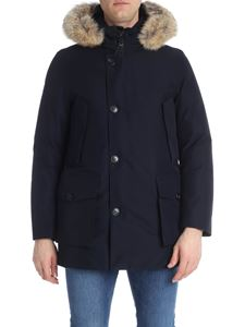 "Woolrich - Blue ""Gtx Artic Parka"" down jacket"