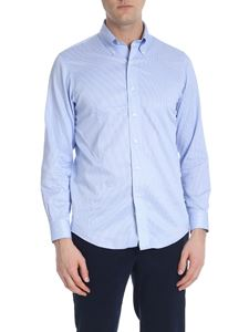 Brooks Brothers - Camicia button down azzurra e bianca