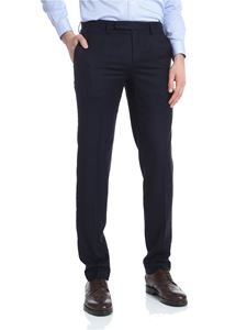 Brooks Brothers - Blue wool trousers