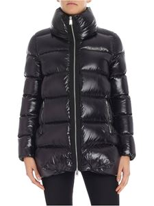 ADD - Black quilted down jacket