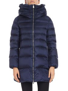 ADD - Blue high-necked down jacket