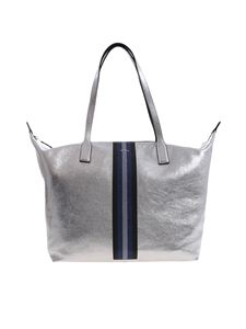 Hogan - Silver bag with glitter details