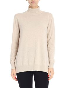 "Max Mara Weekend - ""Deborah"" beige cashmere sweater"