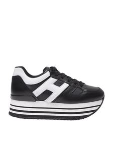 "Hogan - Black and white ""H283"" sneakers"