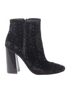 "Hogan - ""Tia"" black pointy ankle boots"