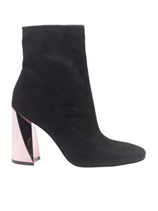 "KENDALL + KYLIE - ""Tina"" black suede ankle boots"