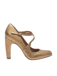 "Chie Mihara - ""Dearly"" golden pumps"