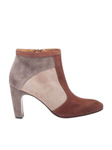 "Chie Mihara - ""Edam"" ankle boots in shades of brown"