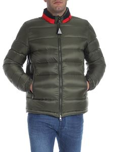 "Moncler -  Army green ""Rodez"" down jacket"