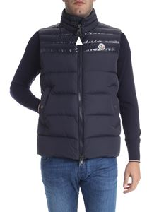 "Moncler - Blue ""Deneb"" quilted down jacket"