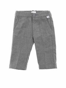 Il Gufo - Grey america pocket trousers