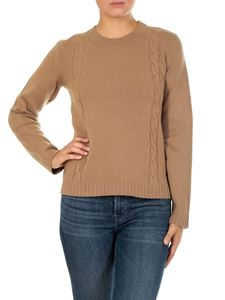 """A.P.C. - Camel color """"Angelica"""" pullover"""