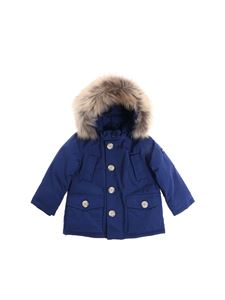"Woolrich - Blue ""My First Parka"" down jacket"