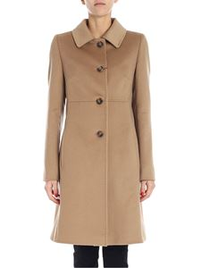 "Max Mara Weekend - Camel color ""Onde"" coat"