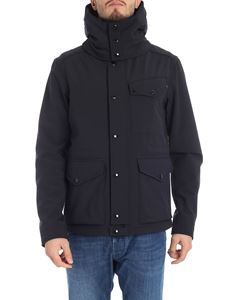 CP Company - Blue jacket with built-in glasses