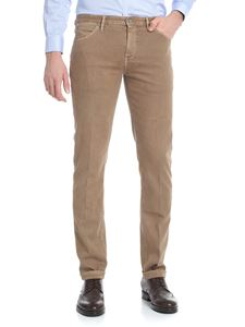 "PT05 - Brown ""Swing"" trousers"