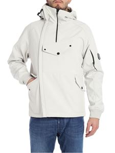 CP Company - Ivory-color jacket with logo