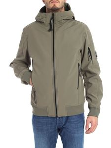CP Company - Sage green jacket with logo