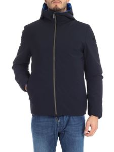 "RRD Roberto Ricci Designs - Blue reversible ""Revo Winter"" down jacket"