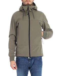 CP Company - Sage green jacket with built-in glasses