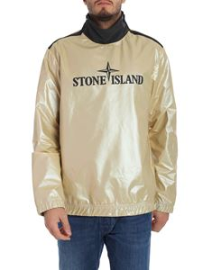 Stone Island - Iridescent technical fabric sweatshirt