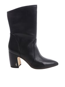 """Sam Edelman - Black """"Hartley"""" pointy ankle boots"""