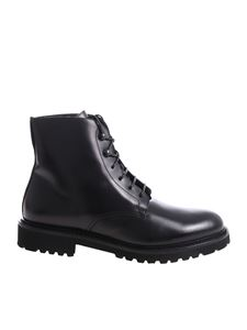 Doucal's - Black ankle boots with rubber sole