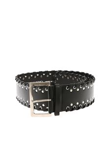 Ermanno by Ermanno Scervino - Black belt with studs