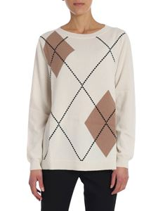Kangra Cashmere - Pullover in cachemire bianco