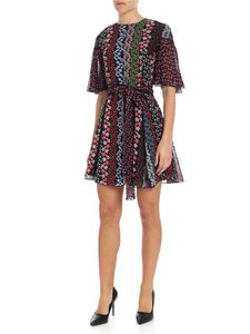 Ermanno by Ermanno Scervino - Midi dress with mix floral prints