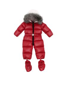 "Moncler Jr - Red ""Ari"" snowsuit"
