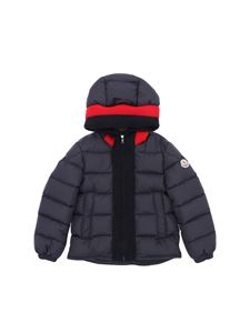 "Moncler Jr - Blue ""Martinique"" down jacket"