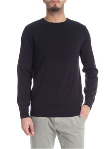 Jurta - Blue and brown crew-neck pullover