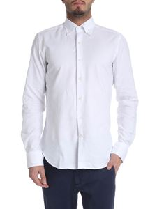 Sartoria Campo - White Oxford fabric shirt