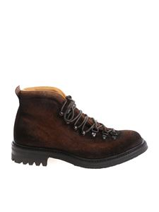 "Officine Creative - Brown ""Alix"" ankle boots"