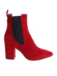 Paris Texas - Red pointy ankle boots