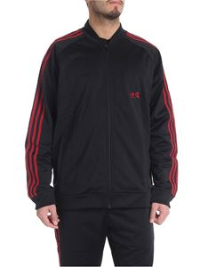 "Adidas Originals - Black ""UAS Track top"" sweatshirt"