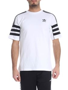 "Adidas Originals - White ""Authentics Tee"" T-shirt"
