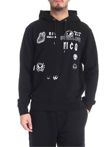 Alexander McQueen - Black sweatshirt with logo