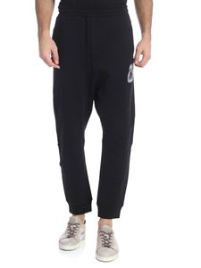 McQ Alexander Mcqueen - Black trousers with logo