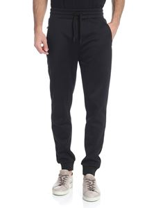 Karl Lagerfeld - Black trousers with logo