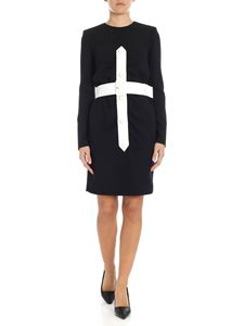 Givenchy - Black dress with belt