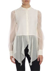 See by Chloé - Cream-colored viscose shirt