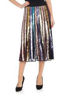 "Alice + Olivia - Multicolor sequins ""Tianna"" skirt"