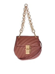 "Chloé - Brown ""Mini Drew Bijoux"" shoulder bag"