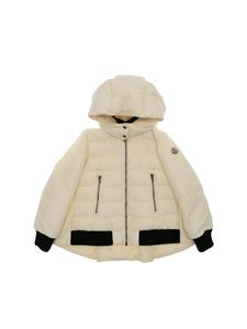 "Moncler Jr - Cream-colored ""Margot"" down jacket"