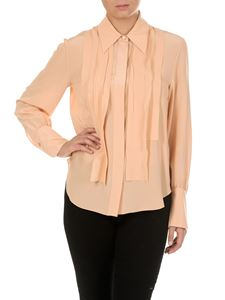 Chloé - Pink shirt with rouches