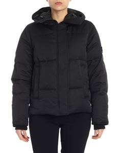 Kenzo - Black hooded down jacket